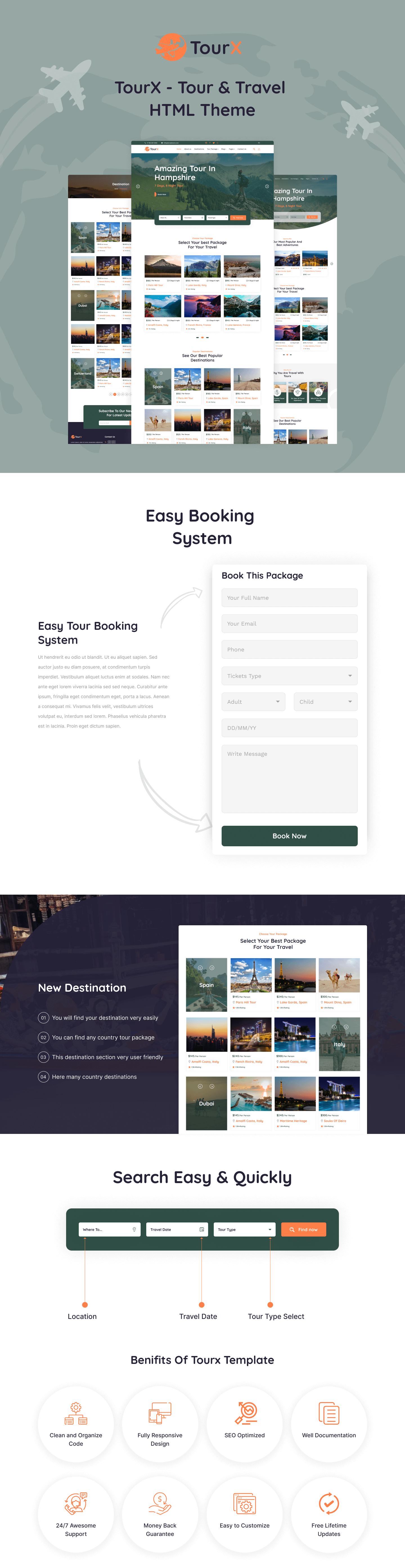 Travels Tourism HTML Templates